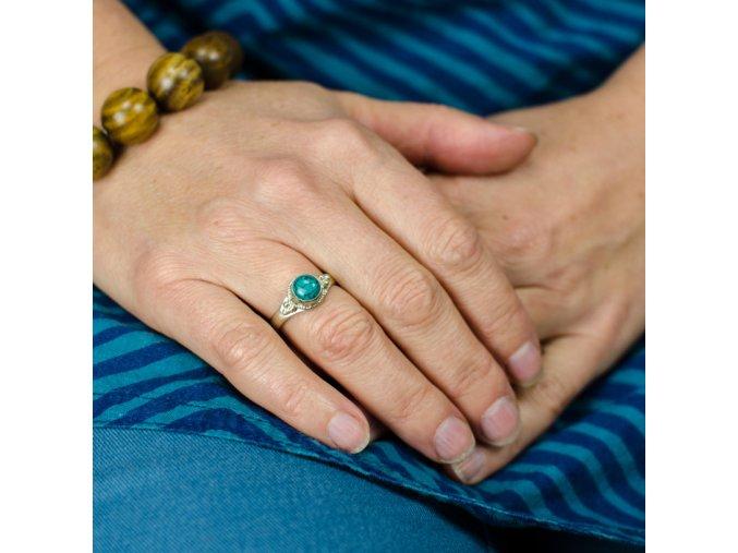 Prsten s kamínkem 1,8 cm